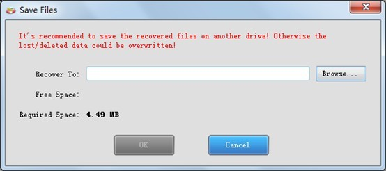 Freeware-photo-recovery-set-save-path