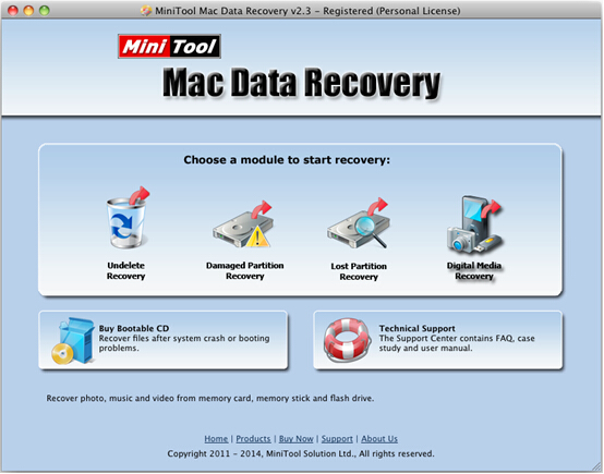 Recover deleted pictures on Mac