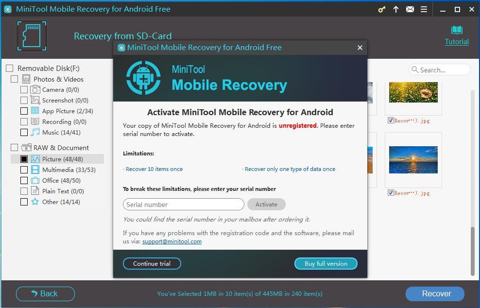 jihosoft android data recovery serial key