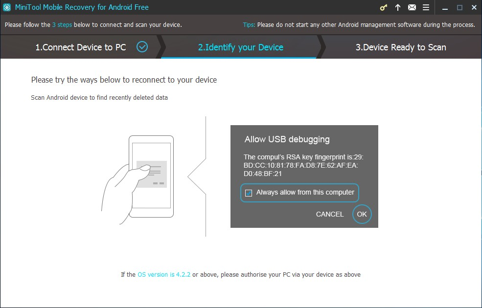 Detailed Steps To Recover Deleted Photos Of Android Minitool