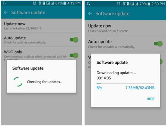 upgrade Android Lollipop to Marshmallow