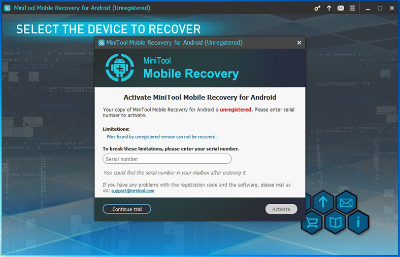 minitool mobile recovery for ios serial number