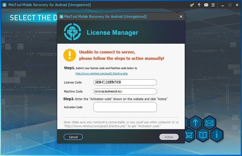 minitool mobile recovery serial number