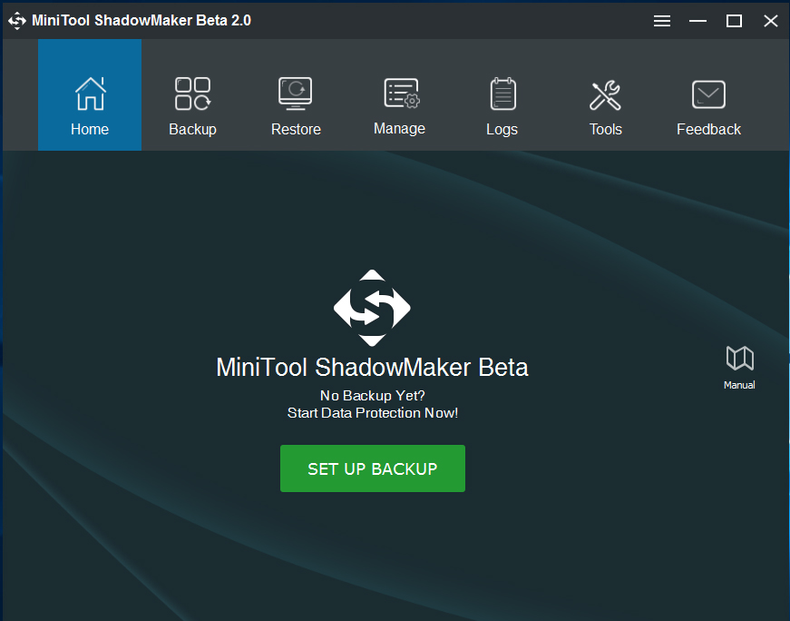 MiniTool ShadowMaker Free