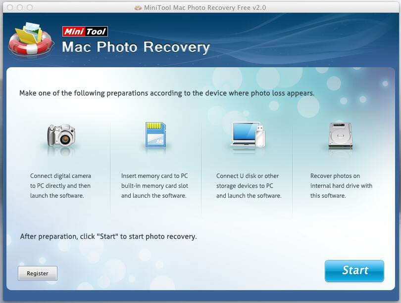 MiniTool Photo Recovery for Mac Free
