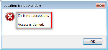 Hard drive is not accessible 1