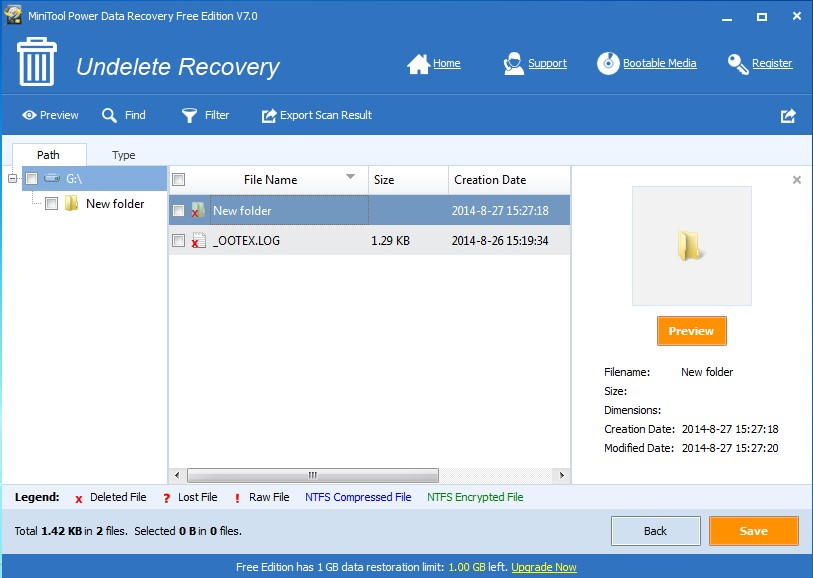 recover antivirus deleted files using data recovery softfware 3