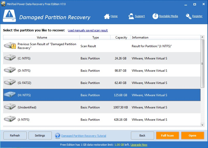 recover antivirus deleted files using data recovery softfware 4