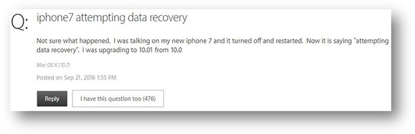 How to Recover Data if iPhone Attempting Data Recovery Fails?