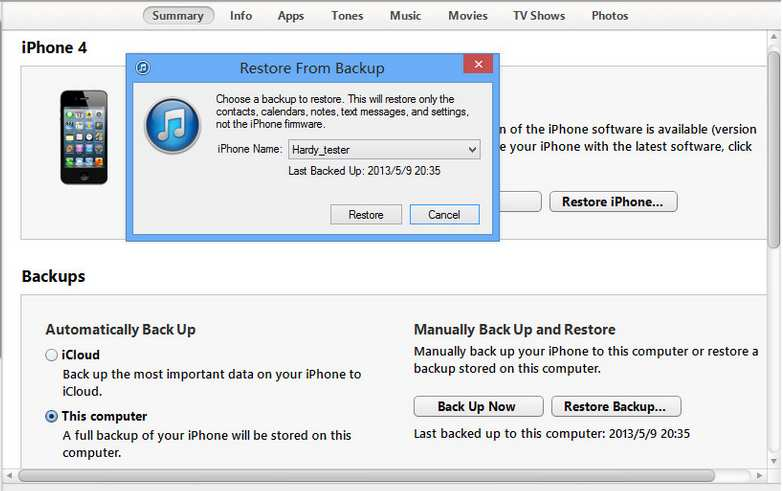 fix iphone apple logo problem by itunes