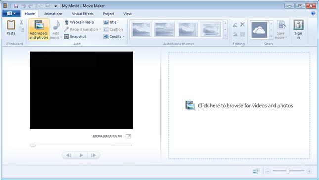 Windows 7 windows movie maker 2.6 full