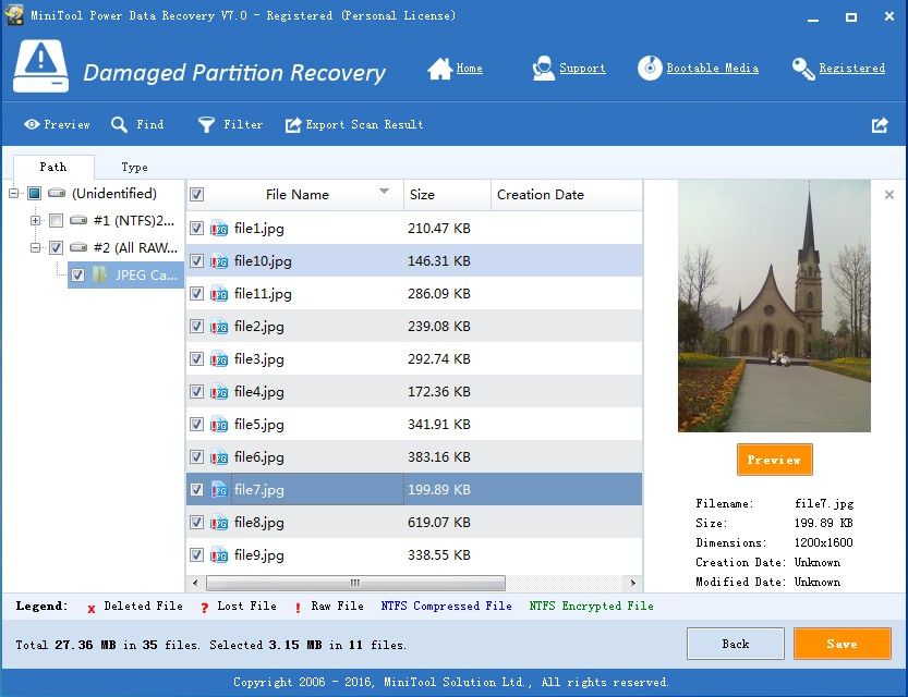 recover data from raw sd card save recovered data