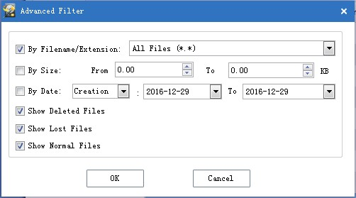recover data from raw sd card filter needless files