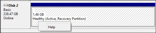 delete recovery partition in disk management