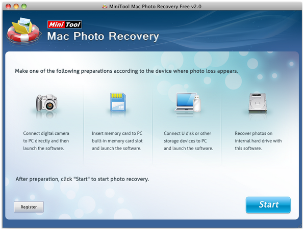 recover lost photos on mac in minitool photo recovery