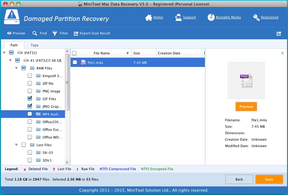 Recover formatted SD card 8