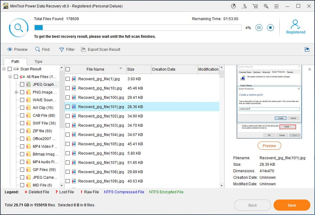 How to Restore Lost Files with MiniTool Power Data Recovery