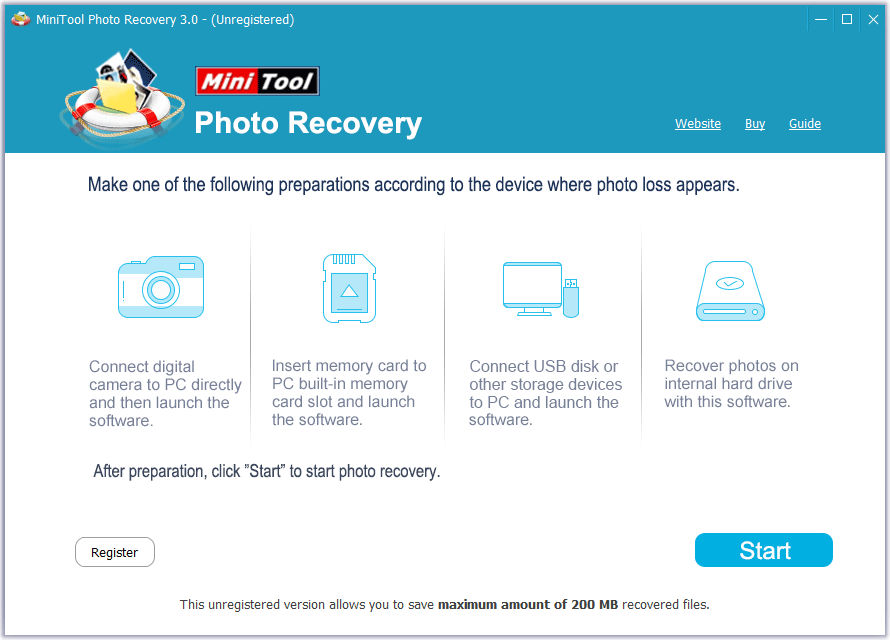 Recover Lost Photos from Computer Hard Drive with MiniTool