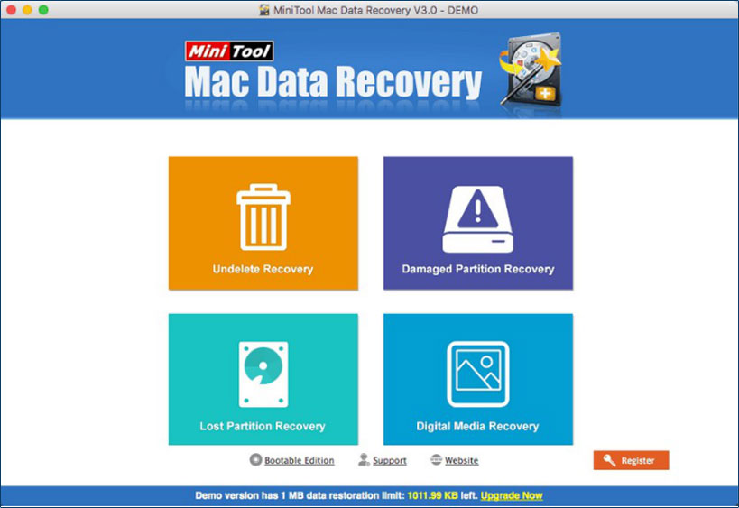 MiniTool Mac Data Recovery Free: Best Free Mac Data Recovery