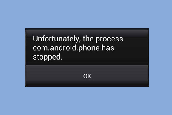 7 Solutions - Unfortunately, The Process com android phone Has