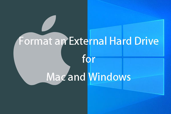 Quickly Format an External Hard Drive for Mac and Windows PC