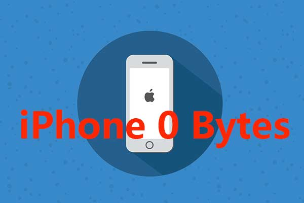 A Simple Step-by-Step Guide to Fixing iPhone 0 Bytes