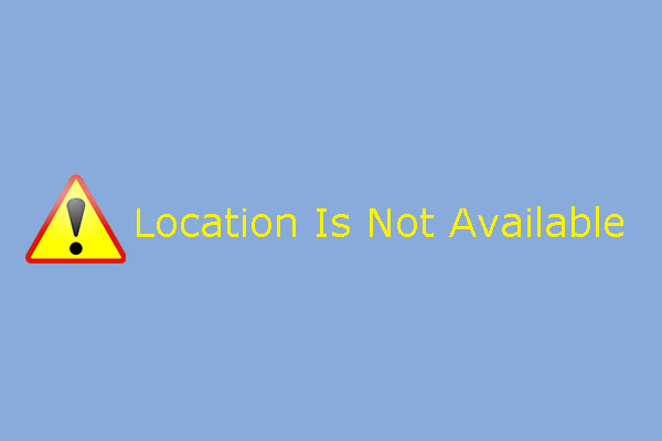 location is not available