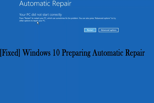 Solved How To Resolve Windows 10 Automatic Repair Loop