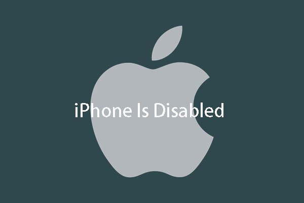 Recover Data from Locked/Disabled iPhone and Related Issues