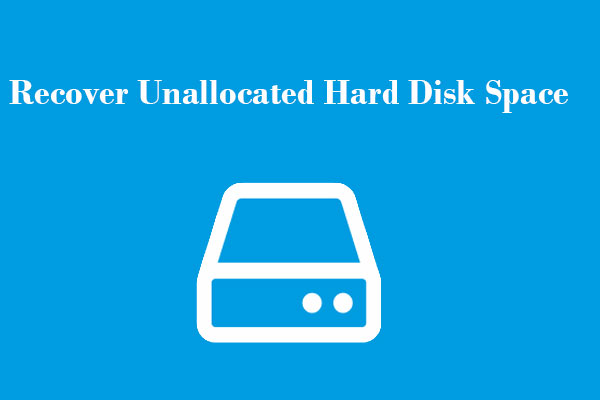 recover unallocated partition with data on it