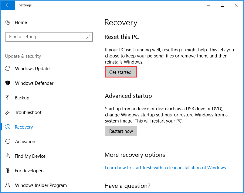 👍 How to Reinstall Windows 10 without CD/USB Easily (3 Skills