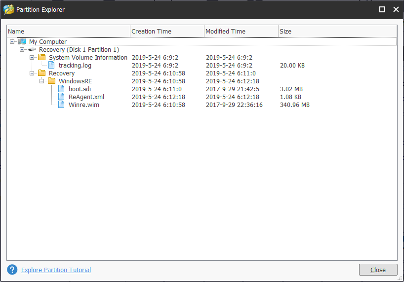 Quickly Know Strange Partitions on Laptops (Four Types