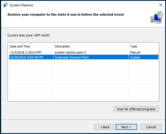 4 Errors Solved – System Restore Did Not Complete