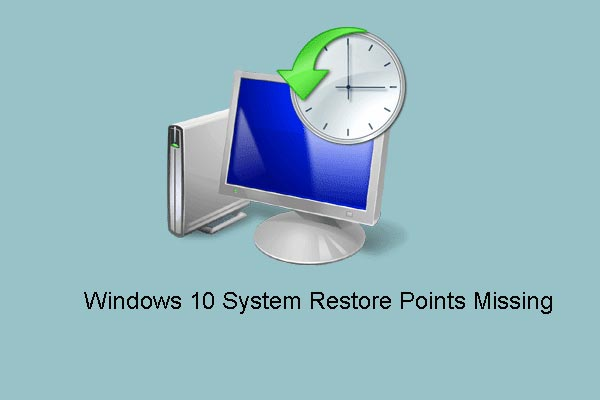 windows 10 restore points missing thumbnail