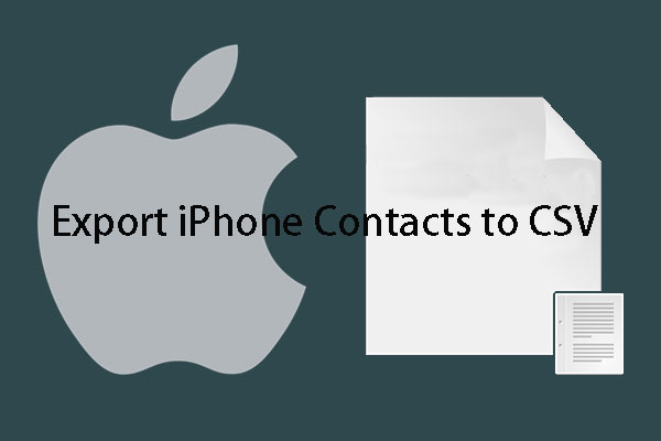 export iphone contacts to csv thumbnail