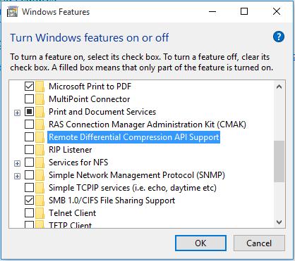 Smb Windows 10