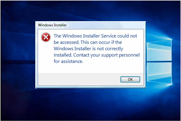 Top 4 Ways to Windows Installer Service Could Not Be Accessed