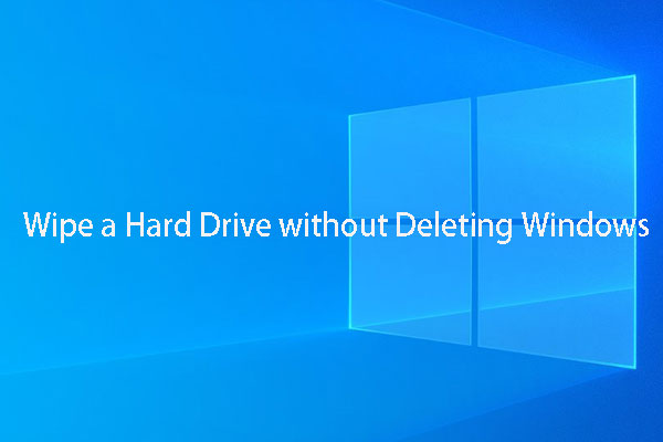 how to wipe windows 10