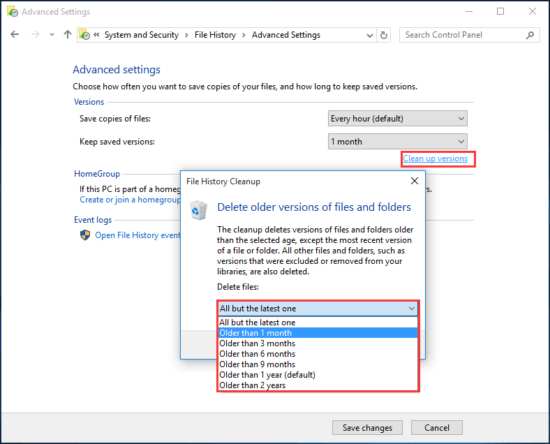 How to Delete Backup Files in Windows 10/8/7 Effectively (2