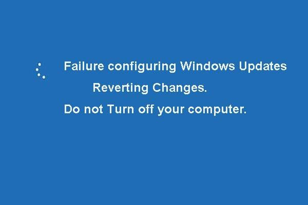 failure configuring windows updates reverting changes thumbnail