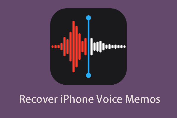 It's Easy to Recover Deleted Voice Memos iPhone with