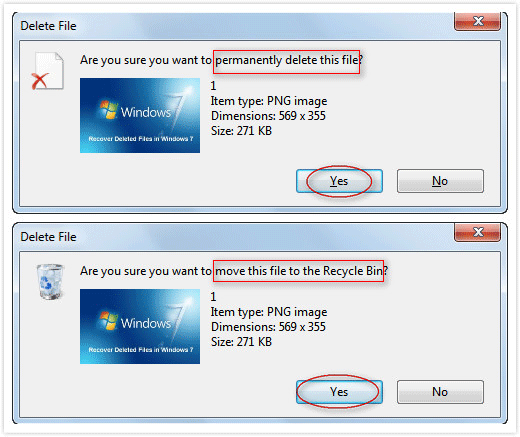 how to restore deleted files from desktop in windows 7