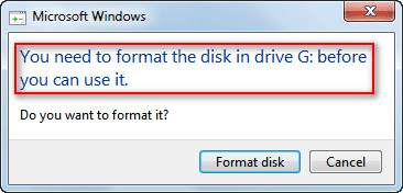 Solved - One Of Your Disks Needs To Be Checked For Consistency
