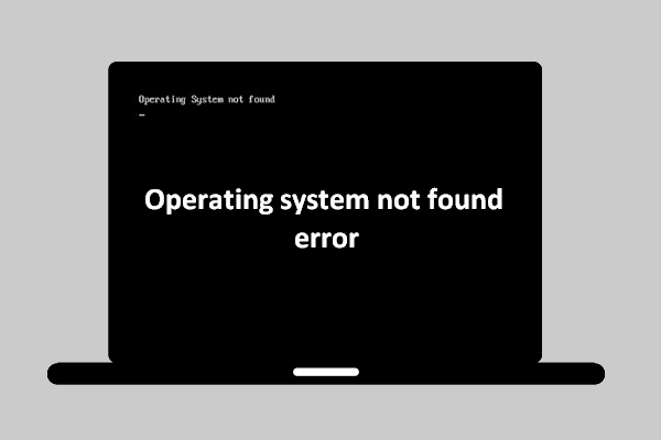 operating system not found thumbnail