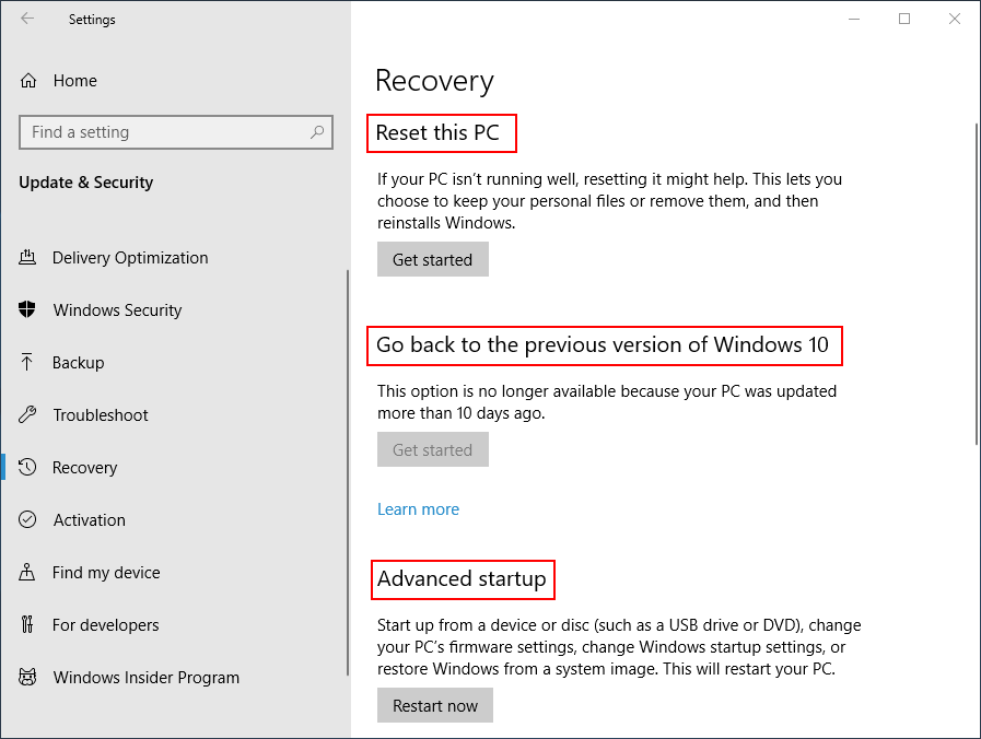 How Do You Recover Files After Factory Reset Laptop - MiniTool