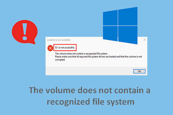 couldnt mount file make sure the file is in an ntfs volume