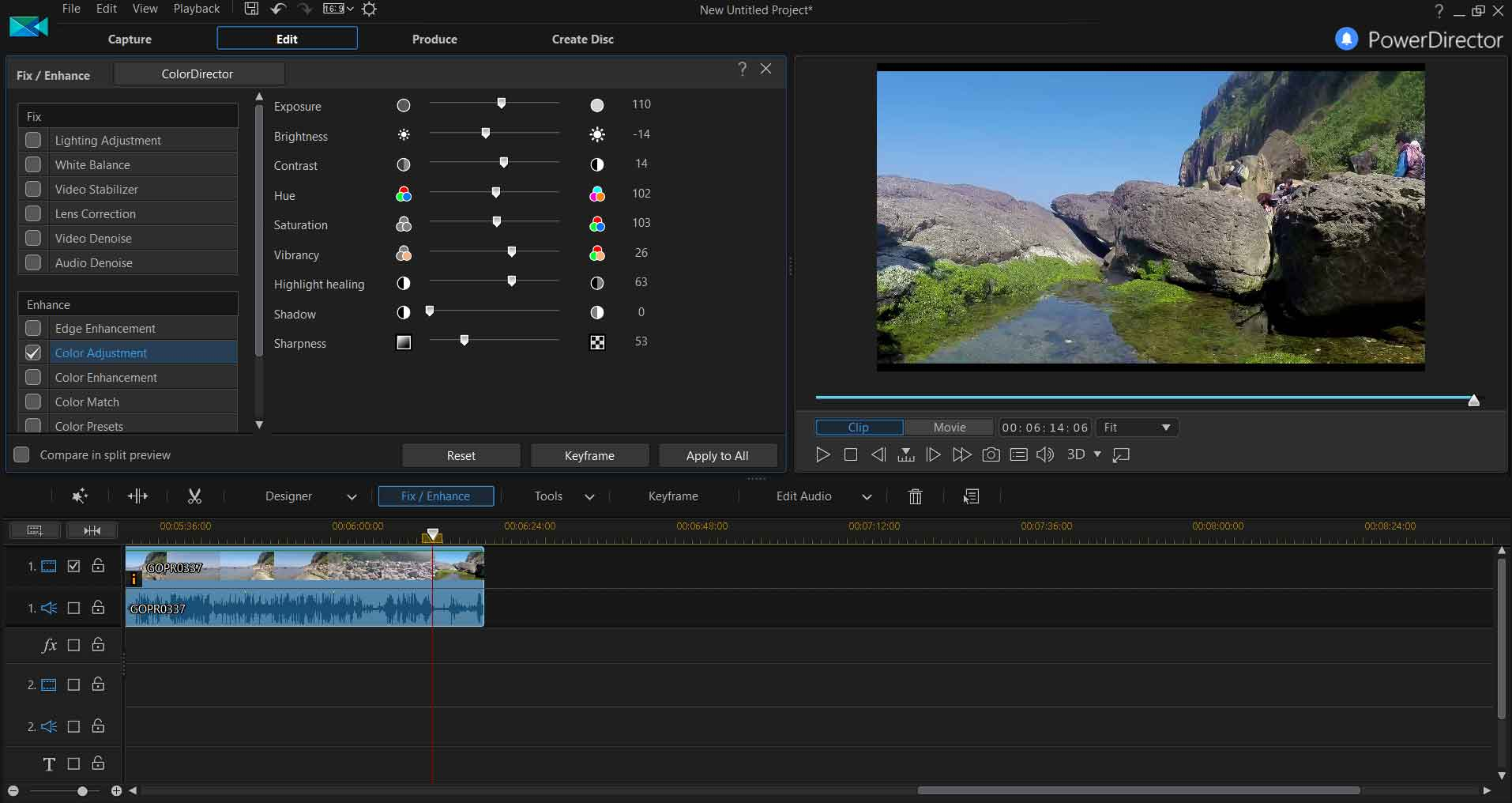 easy to use video editor pc