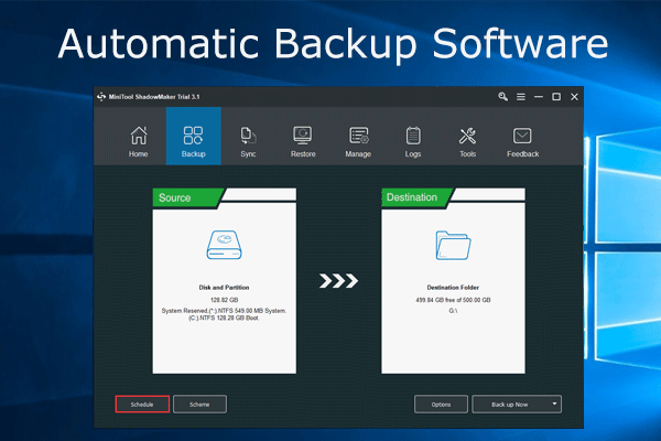 automatic backup software thumbnail