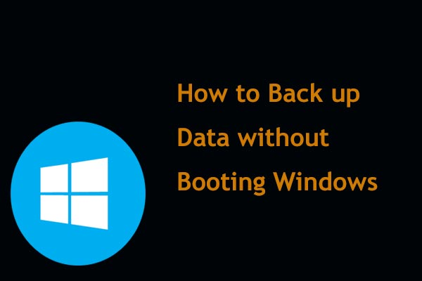 backup data without booting thumbnail
