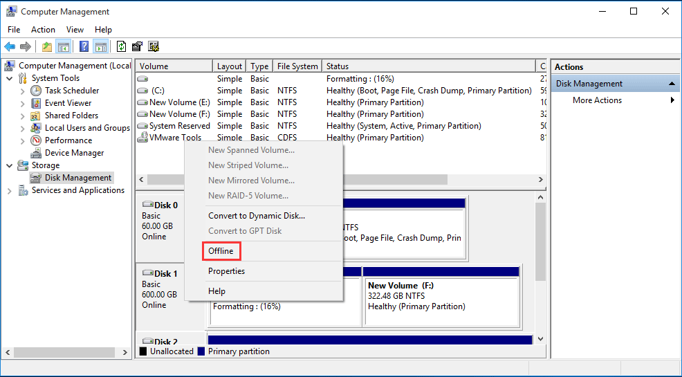 How to Cancel a Format in Process? Different Situations Are